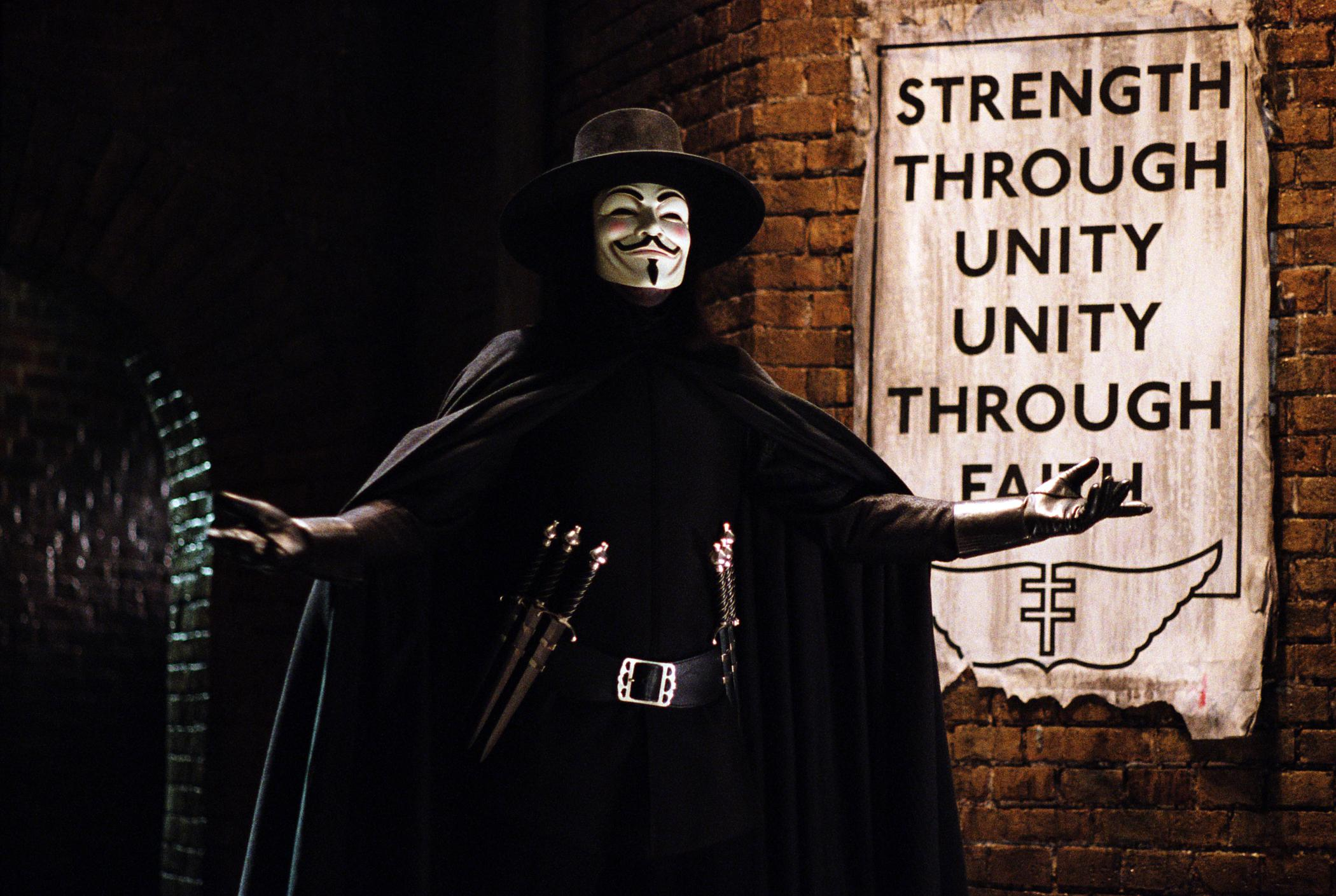 the tone of v for vendetta Essay on the tone of v for vendetta in this modern era can make one feel emotions without that individual even noticing the amount thought put into movies is so overwhelming the making of every aspect of any given movie is pre-determined.