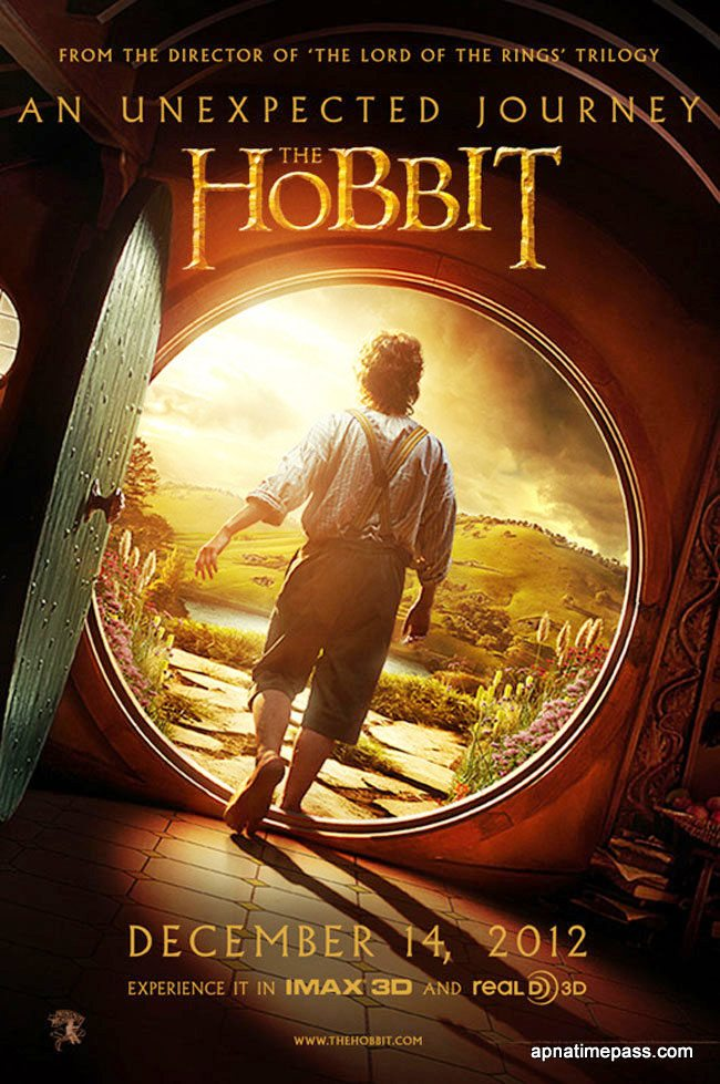 The Hobbit Book Cover 2012