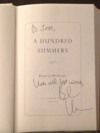 My signed copy!