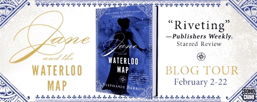 JANE AND WATERLOO - Blog Tour Horizontal